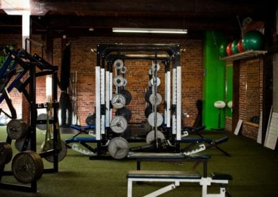 engineered sports gym